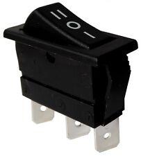Interruptor conmutador de botón SPDT ON-OFF-ON 16A/250V 20A/28V, 3 posiciones