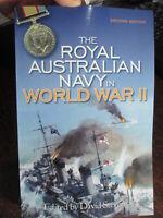 History of the Royal Australian Navy in WWII WW2 Stevens RAN