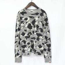 A BATHING APE Ape Monkey Camouflage Thermal T-shirt