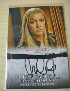 Supernatural Seasons 1-3: Katie Cassidy Autograph A 0 5.