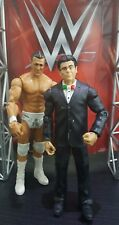 WWE MATTEL ELITE SERIES ALBERTO DEL RIO PATRON AND RICARDO RODRIGUEZ WRESTLING