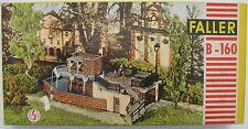 FALLER B-160 - moderner Brunnen - Stadtbrunnen mit Wasser-Pumpe - Fountain - H0