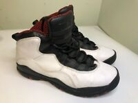 Nike Air Jordan 10 Retro Chicago Need Black White Red  Shoe Size 6.5 Youth