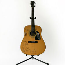 New Years Eve 2019 Signed Epiphone Acoustic Guitar, Keith Urban, A.McBryde +More