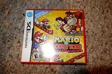 Mario vs. Donkey Kong: Mini-Land Mayhem (Nintendo DS, 2010) Complete