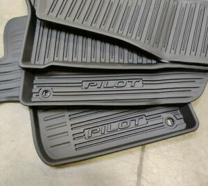 Genuine OEM Honda 08P17-TG7-300A All Season High Wall Floor Mats 16-21 Pilot