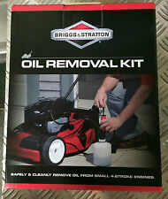Briggs and Stratton Lawn Mower Oil Removal Kit for Victa Honda Rover BRAND NEW
