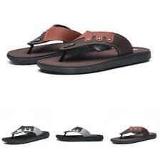 Mens Beach Thong Slippers Shoes Clip Toe Walking Sports Non-slip Flats Pool 44 B