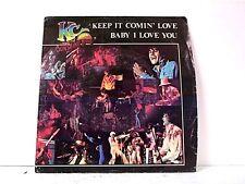 "KC & SUNSHINE BAND ""KEEP IT COMIN LOVE / BABY I LOVE YOU"" 45w/PS"