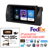 9'' Android 9.1 Stereo Radio GPS WiFi 3G 4G BT DAB For BMW E39 E53 X5 w/Canbus