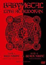 Babymetal - Live At Budokan: Red Night And Black Night Apocalypse (NEW DVD)