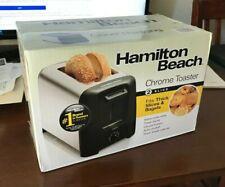 Hamilton Beach Toaster 22614R Extra Wide Slots Toast Boost Shade Selector Cancel