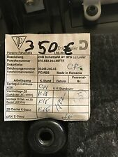 Porsche Panamera Handschuhfach Leder Beige 97055220409FF