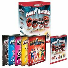 Mighty Morphin Power Rangers Complete Season Series 4, 5, 6 & 7 DVD Box Set