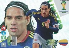 LIMITED FALCAO # COLOMBIA PANINI CARD ADRENALYN WORLD CUP BRAZIL 2014