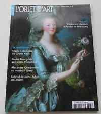 Revue OBJET D'ART ESTAMPILLE 433 2008 Marie Antoinette Marcion Louise Bourgeois