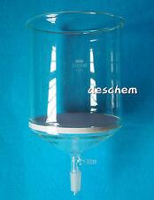 5000ml,24/40,Glass Buchner Funnel,5L,3# Sand Core Filter,Vacuum Hose Adapter