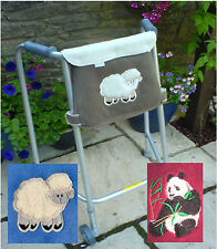 Mobility Walker / Zimmer Frame Bag - washable, lightweight, easy to carry items