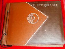 ALBUM 302PHOTOS + 46CP DORDOGNE BEAUVAIS LYONS VEZELAY FONTAINEBLEAU 1937-1939
