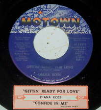 Diana Ross 45 Gettin' Ready For Love / Confide In Me  VG++  w/ts