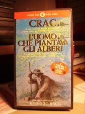 VHS   CRAC - L'UOMO CHE PIANTAVA GLI ALBERI di Frederic Back   1996