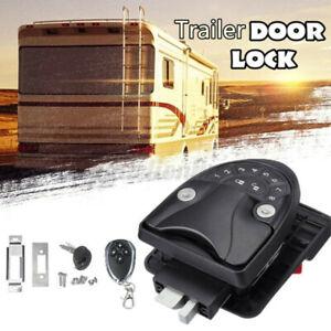 Keyless Entry Door Lock Latch Handle Knob Deadbolt For RV Camper Trailer US Stoc