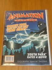 ANIMATION AUGUST 1999 SOUTH PARK IRON GIANT WARNER BROS US MAGAZINE =