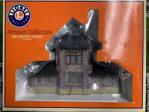 ✅LIONEL ALTOONA MG SWITCH TOWER 6-37933! O GAUGE SIGNAL YARD PENNSYLVANIA