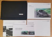 GENUINE AUDI A3 HANDBOOK OWNERS MANUAL WALLET 2008-2010 PACK E-67