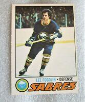 1977-78 O-Pee-Chee Lee Fogolin #94 Hockey Card! Buffalo Sabres Defenceman VG OPC