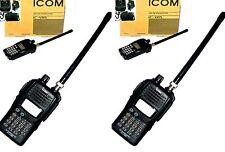 PAIR IC-V85  ICOM radio VHF136-174MHz Two-way RADIO transceiver walkie talkie 7W