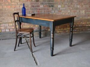 OLD SCHOOL 'GRAFFITI' TOP WORK TABLE - Local & London Delivery Options