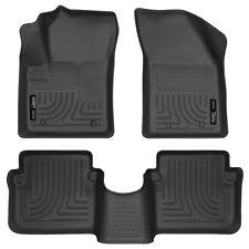Husky Liners Black Car Floor Mat Rubber Carpet For Dodge 2011-2014 Avenger