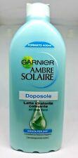 400 ml Garnier Ambre Solaire Doposole Latte Idratante calmante Bellezza (gjy)