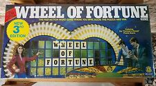 Vintage Wheel of Fortune Board Game 1985  3rd Edition Pressman  New