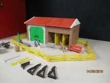 "1987 VINTAGE PLAYMOBIL #3436 ""PONY RANCH"" FARM SET not complete"