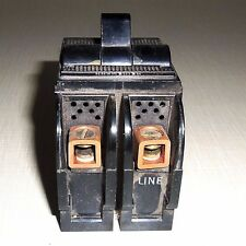 USED SIEMENS HEINEMANN ELECTRIC 2911 CIRCUIT BREAKER 2 POLE 15 A  120/240 VAC