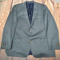 INDOCHINO Suit Sz 44R Wool Gray Dual Vent Jacket Blazer Sport Coat