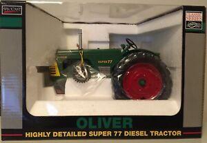 SpecCast Oliver Super 77 Diesel 1/16 Antique Power 20th Anniversary 1 of 750 NIB