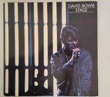 """33 tours david bowie """"Stage"""" double album live rare / 2 LP pressage bleu"""
