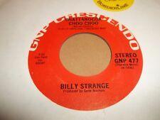 "BILLY Strange ""TRACK-scendere"" Folk Rock 7"" UNICO OTTIMO 1968"