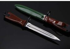 """12 """" New Wood handle 440C Blade Fixed Blade Survival Bowie Hunting Knife VTHM2"""
