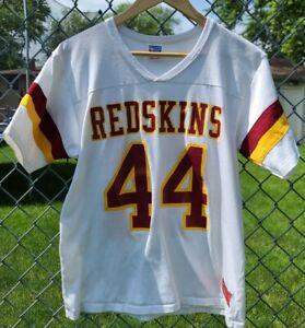 VTG John Riggins Washington Redskins Rawlings Jersey 44 Large Rare 1980s USA