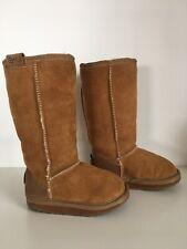 emu kids Long Ugg Boots Size 8 AS NEW