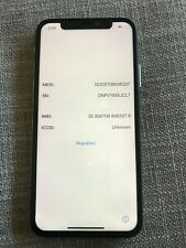 Apple iPhone X Space Gray 256GB - L0CK3D - For Parts Only - Read Description