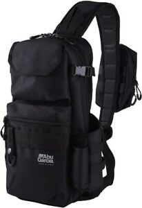 Abu Garcia Sling Body Bag Black W18cm x H38cm x D11cm Polyester With Tracking