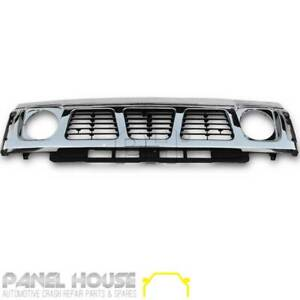 Grill Chrome Front Replacement  fits Nissan Patrol GQ Series 1 Y60 Grill 1988 -