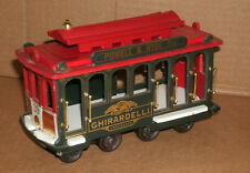 1/32 Scale San Francisco Powell & Hyde Street Cable Car #39 Wooden Decoration