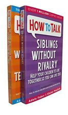 How to talk pour décortiquer veut listes & SIBLINGS without rivalry Faber & mazleish New
