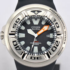 Auth CITIZEN PROMASTER ECO-DRIVE 300m Professional Divers Men's Watch o#71318
